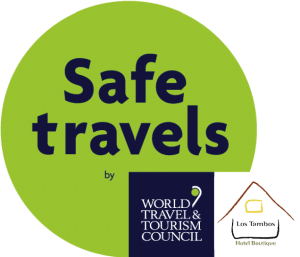 It is a mark that determines which hotel los tambos complies with the safe travel